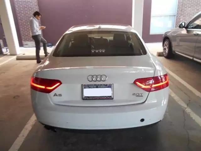 验二手车 2013 Audi A5,无事故一任车主,四驱Led大灯,大天窗,内饰干净