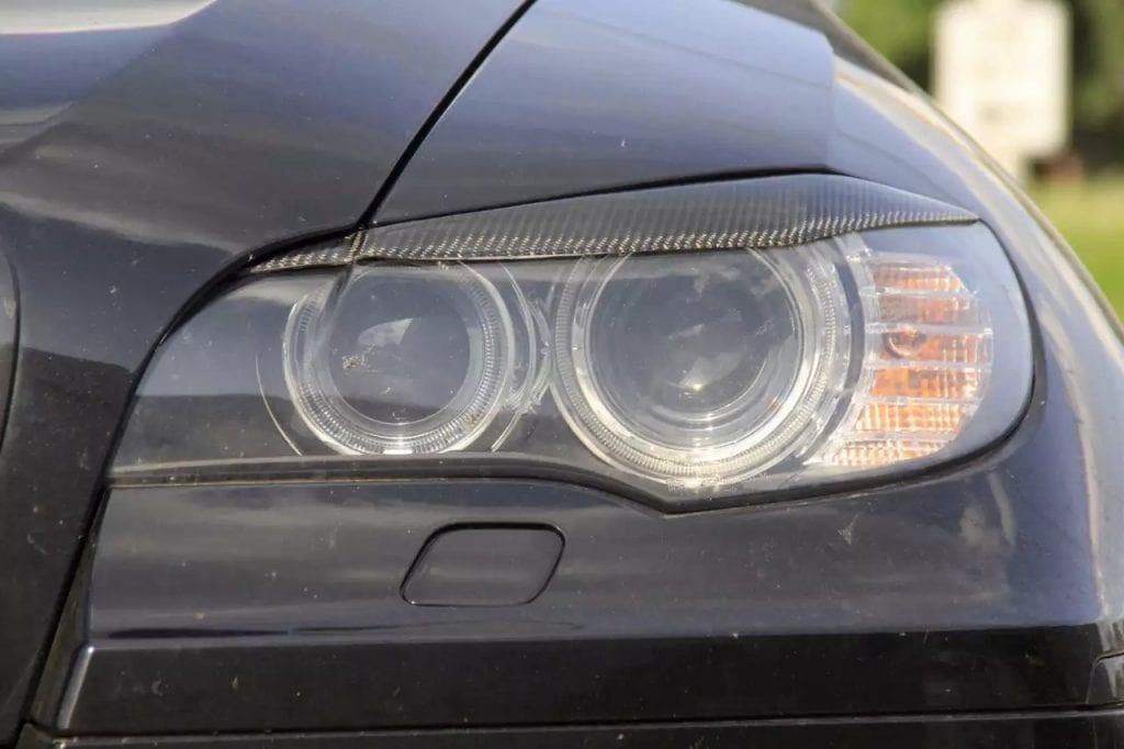 2014 BMW X6M改 balck in black-专业套件改装,花小钱装大逼,Hid大灯,貜皮方向盘,X6m排气嗡嗡嗡
