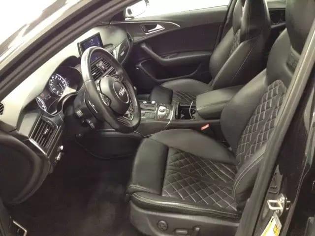 2013 AUDI S6 prestige顶配,外观低调,内饰华丽,菱格座椅,碳纤维配饰