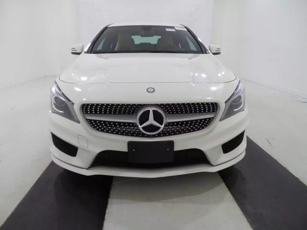 2014 CLA250 AMG套件,白色配五角星 轮毂,米色运动座椅,蓝牙aux等配置齐全。2.0T发动机,低油耗高能效,全美这个配色这个配置的就这么几台,里程:15k,价格:29xxx!