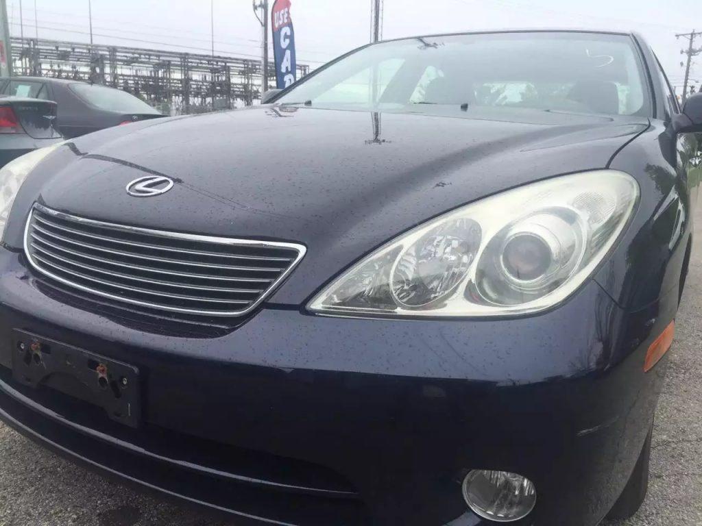2005 Lexus ES330,v6 发动机,里程:50k!估计再跑个10wmiles问题不大吧,价格不到1w。