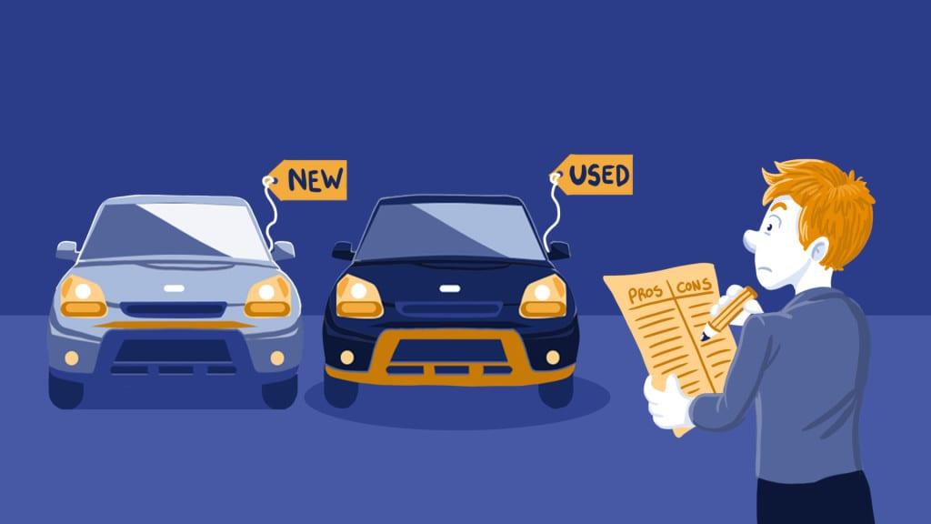 USED CAR VERSUS NEW CAR