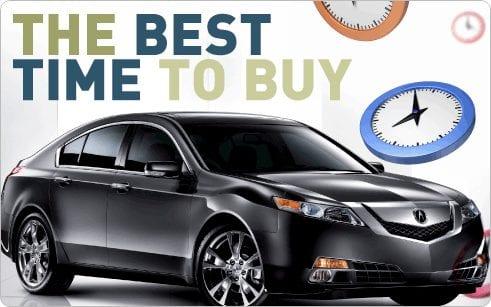 购买新车的最佳时间