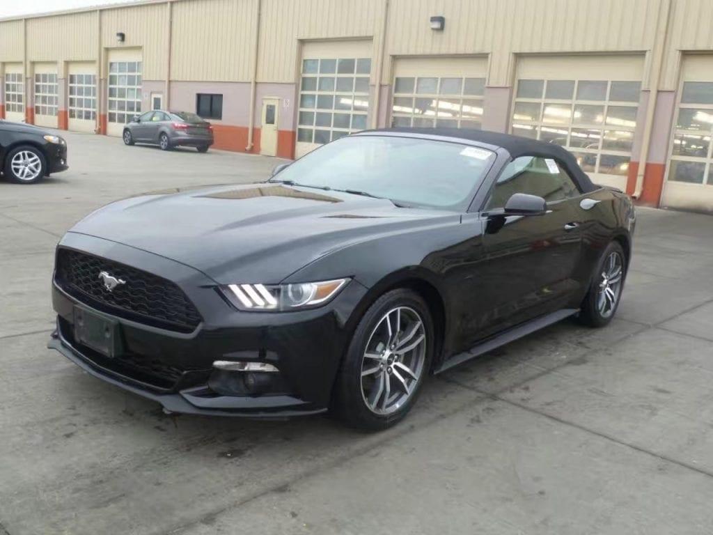 美国买车 台湾 2015 Ford Mustang Ecoboost premium,里程仅仅3w4