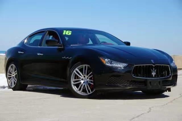 买车 签约 注意事项 2014 Maserati Ghibli SQ4,白外红内,高端运动轮毂
