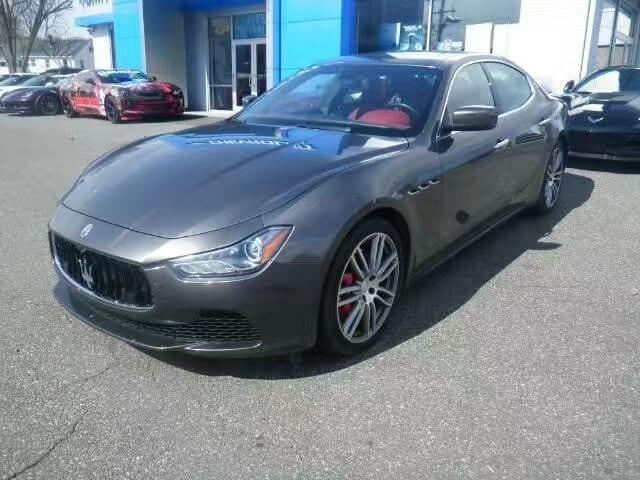 买车 gift 被查 2015 Maserati Ghibli SQ4,红内!里程:28k,配置