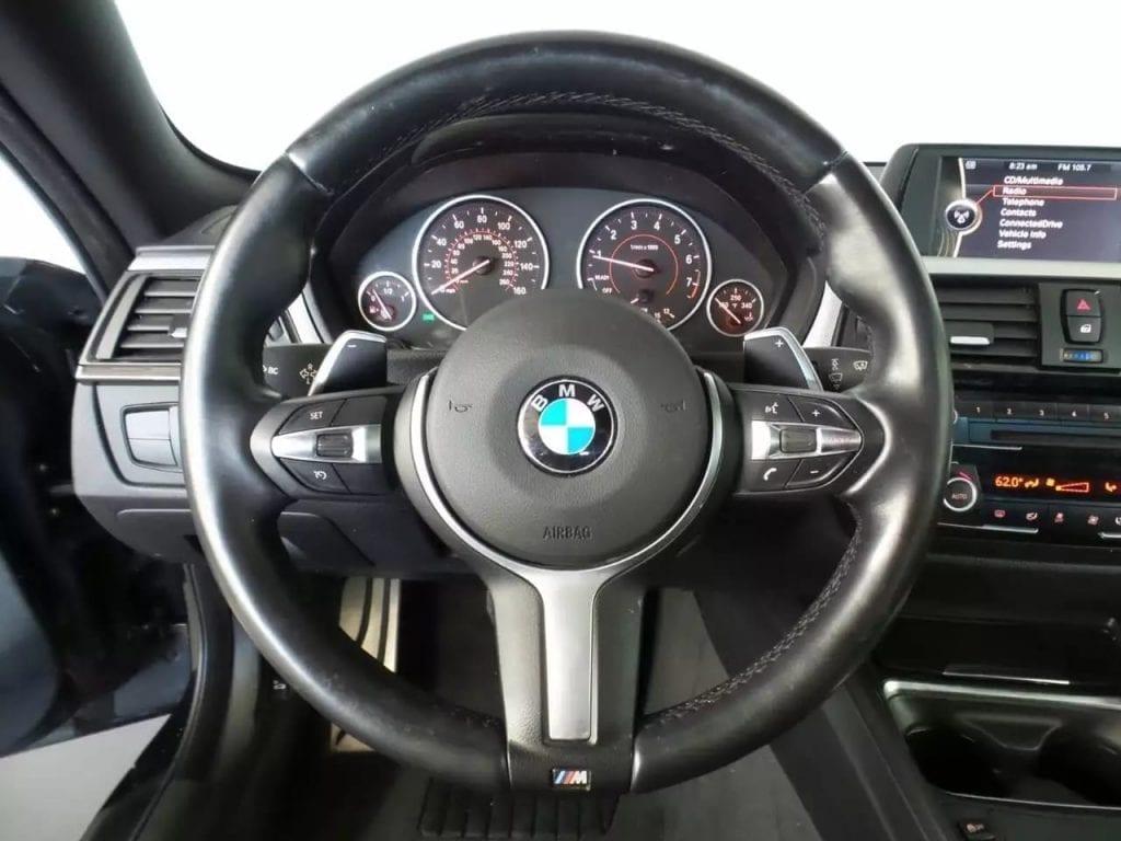 美国买车需要什么证件 2014 BMW 428i Xdrive,带M套件,丁字裤方向盘