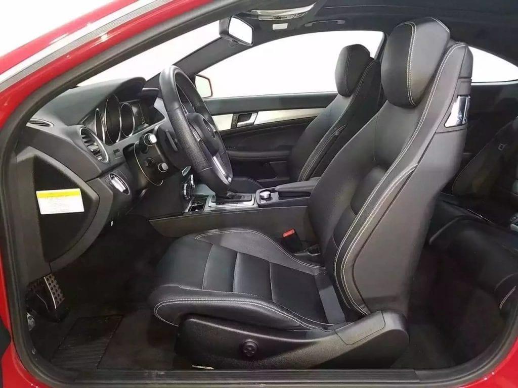 美国二手车逃税 2013奔驰C250 Coupe sport package~ 里程仅仅22k!