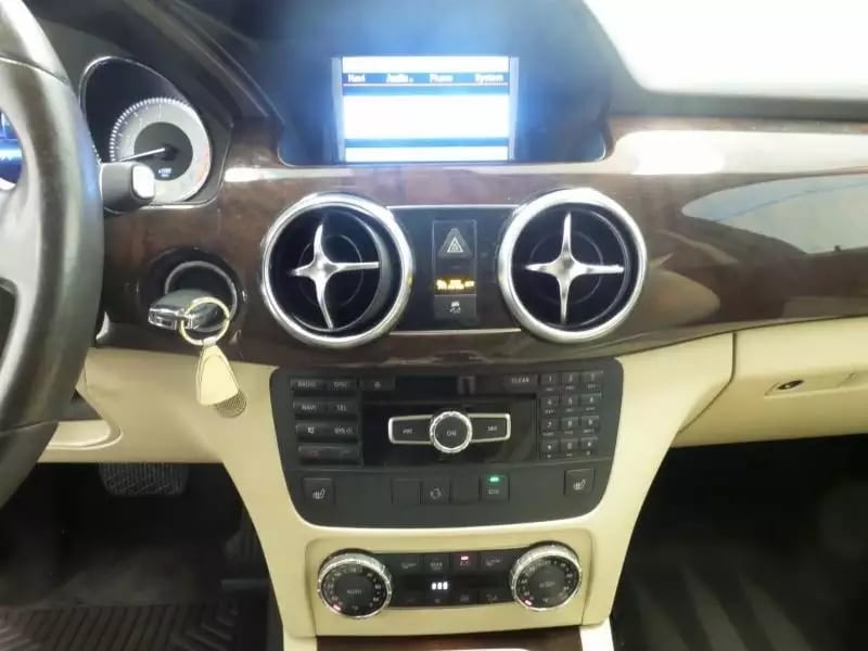 美国买车定金可以退吗 2013 奔驰 GLK 4matic,入冬之前,