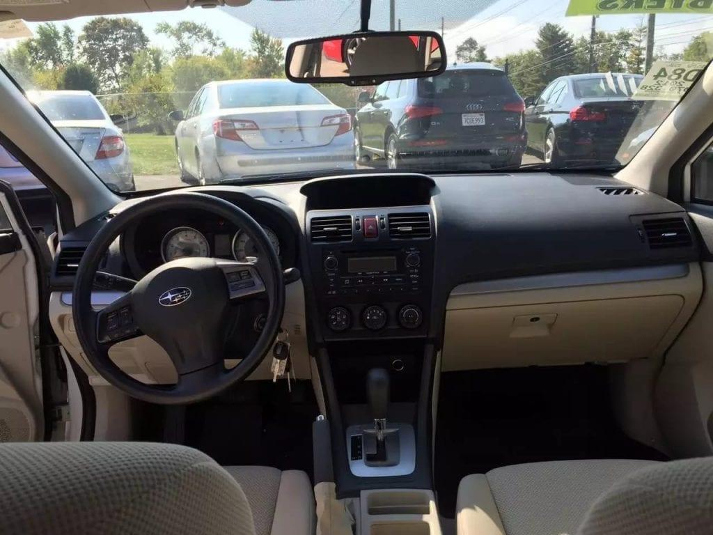 美国买车 消费税 2012 Subaru 斯巴鲁 impreza AWD,里程7w