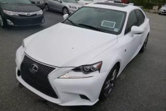 美国二手车行情 2014 LEXUS IS250 F-sports AWD,里程4w3