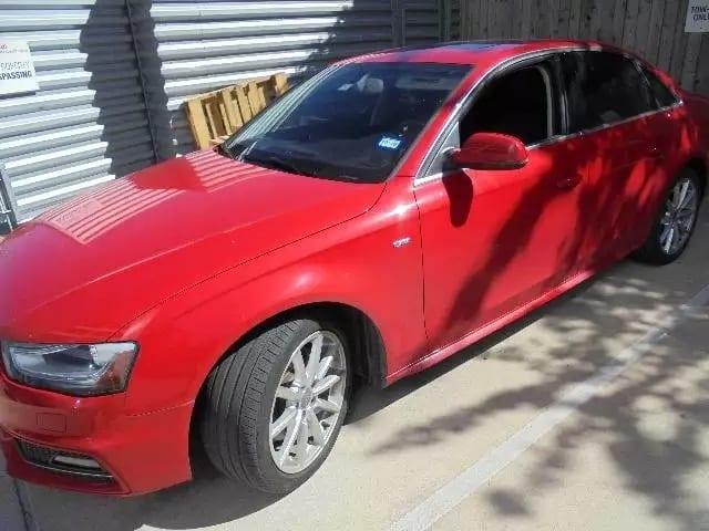 美国二手车还价 2014 Audi A4 quattro,里程仅仅2w4,配置:导航倒影