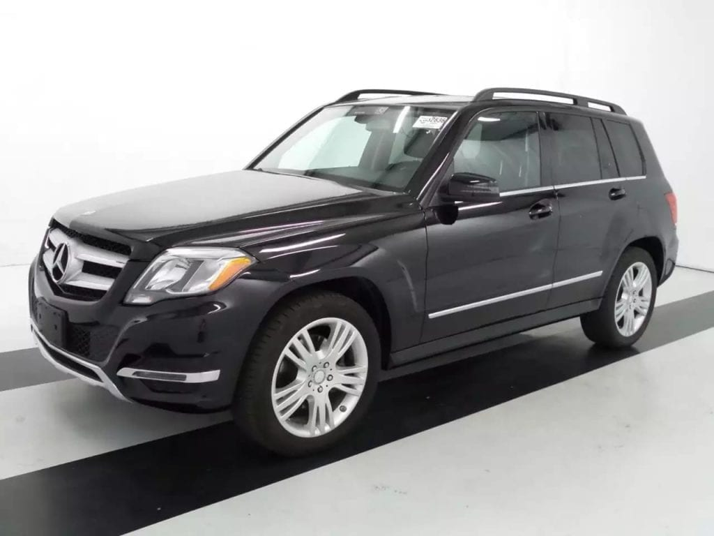 二手车车贷利率 2013 Mercedes GLK,4matic四驱,高端配置良好车况