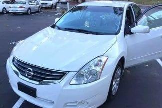 二手车北美 2012 Nissan Altima,CVT无级变速箱,驾驶感觉舒适