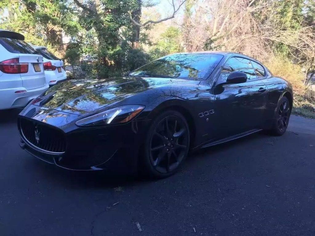 养二手车 2013 Maserati GTS,声浪 太强,外黑内白,标准高帅富搭配