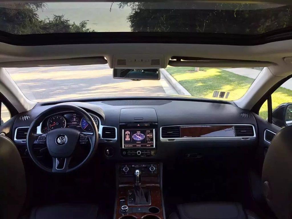 二手车湾区 2013大众途锐 V6 Luxury,高配+四驱  私人车可省税,迈数5w
