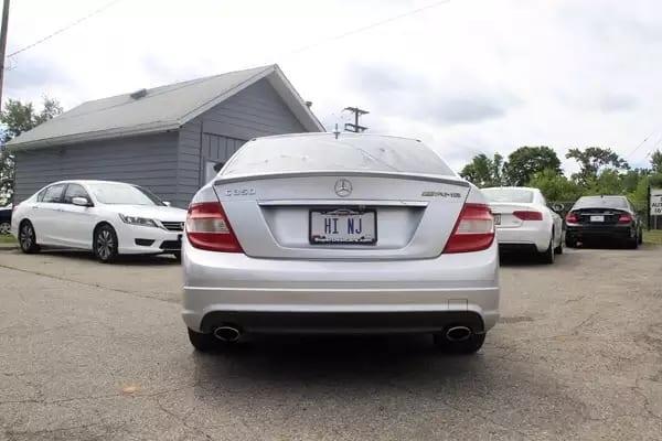 二手车利润都收多少 2008 Mercedes C350,配置相当豪华