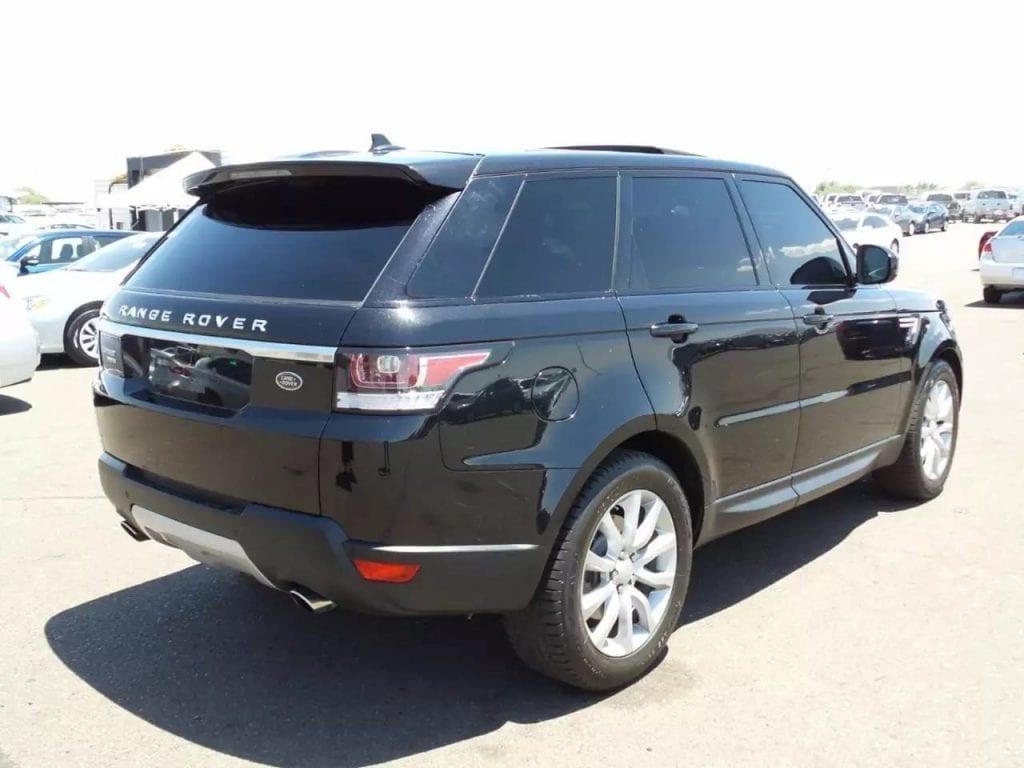 二手车营业用车 2015 Land Rover-揽胜运动,霸道存在,里程:15k,价格:6打头。