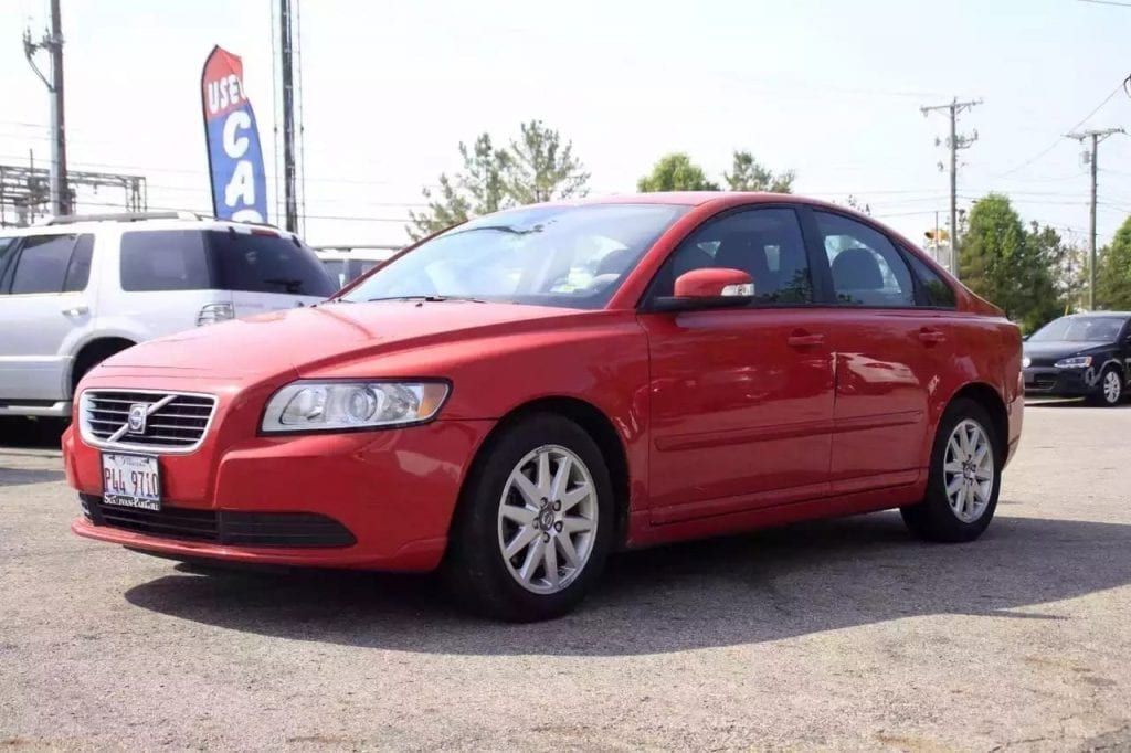 美国 二手车 流程 珍藏好久的小红,还是拿出来卖了 2009 Volvo S40