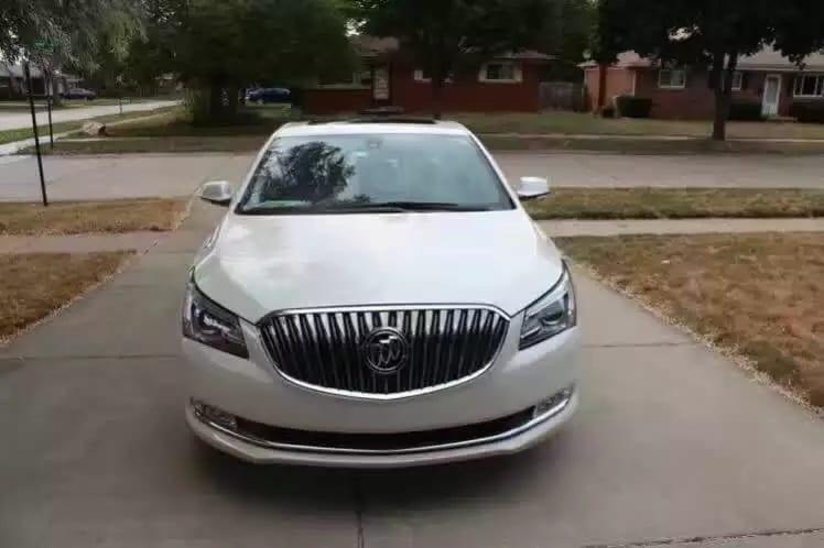 二手车n 2014 Buick LaCrosse 里程32k,luxury package,真皮内饰