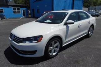 x trail二手车价 2013 Volkswagen Passat SE,天窗版,里程:26k,车况良好