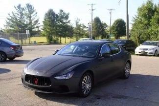 买二手车须知 2014 Maserati Ghibli SQ4,外形帅气,红色三叉戟