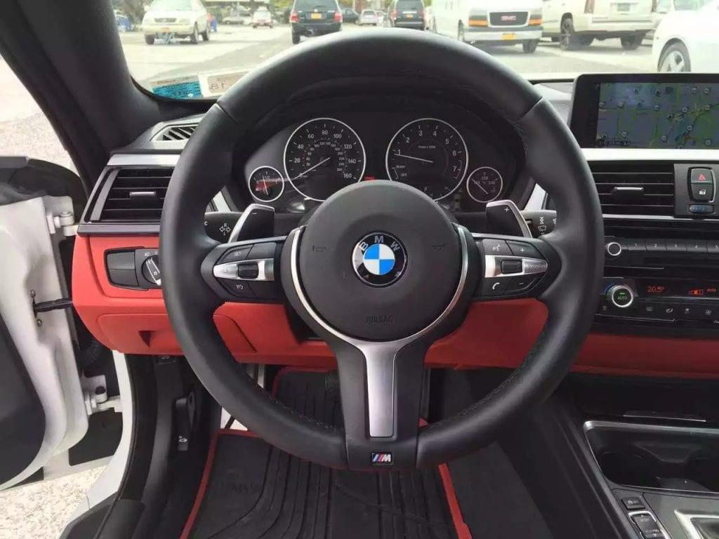 2014 BMW 435i xdrive, 跑17600迈 四驱 M套件 顶配 红内 无事故!新车6万