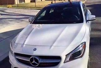 2014 Mercedes Benz CLA250 里程:12k 车载导航,全景天窗,加热座椅,Xenon大灯,HK音箱